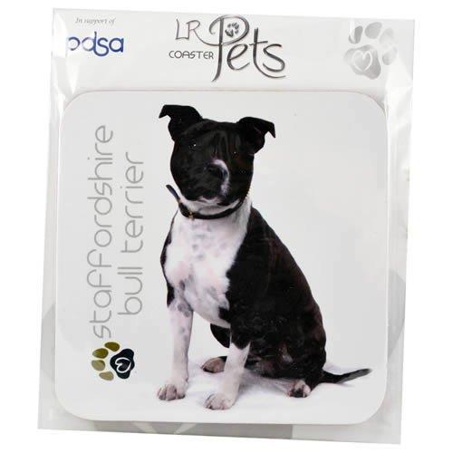 Staffordshire Bull Terrier Dog Coaster Gift