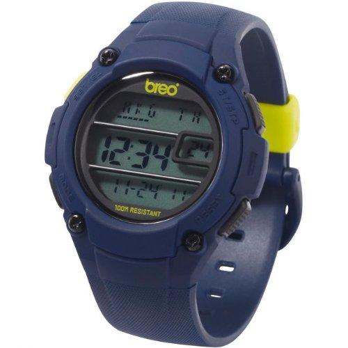 Breo Zone Herren Uhren Navy Blau Armbanduhr b-ti-zne11 (Einzelne Lcd Zone, Die)