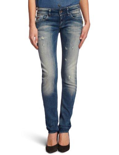 G-STAR Damen Lynn Blade Superstretch Skinny Jeans Blue (Light Destroy)