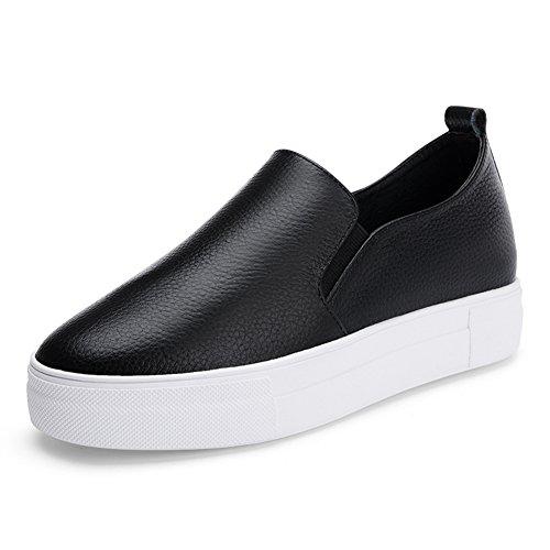 Hauteur croissante chaussures femme/de confort collation gâteau et chaussures/chaussures printemps/Le Fu, chaussures à semelles épaisses A