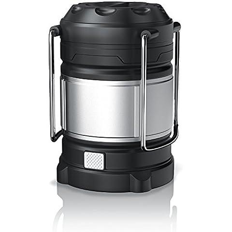brandson–Lampada LED da campeggio/Lanterna/| Power Bank USB 2.0High Speed) |