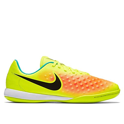 Nike Jr Magistax Opus Ii Ic, Scarpe da Calcio Uomo Amarillo (volt/black-total orange-clear jade)