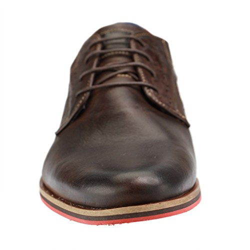Mustang Business-Schuhe, Leder, braun Braun