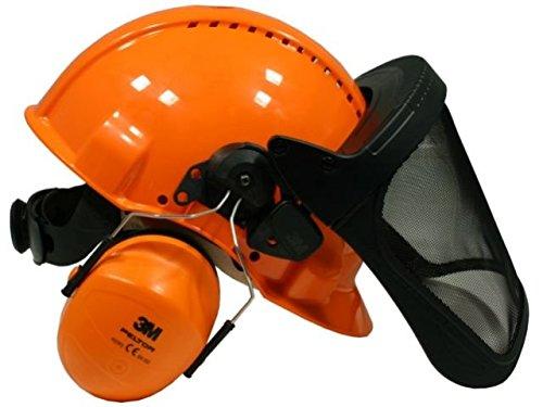 Kopfschutzkombination G3000M (Gehörschutz und Gesichtsschutz)