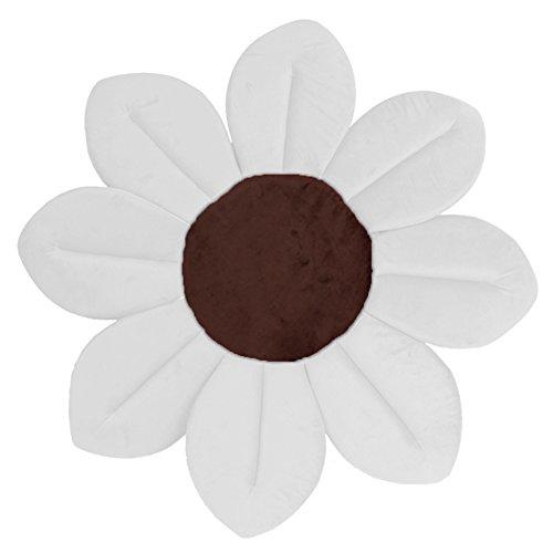 Fugui Baby Dusche Lotus Sitzkissen faltbar Baby Badewanne Weiche Dusche Rutschfeste Fußmatte Blume