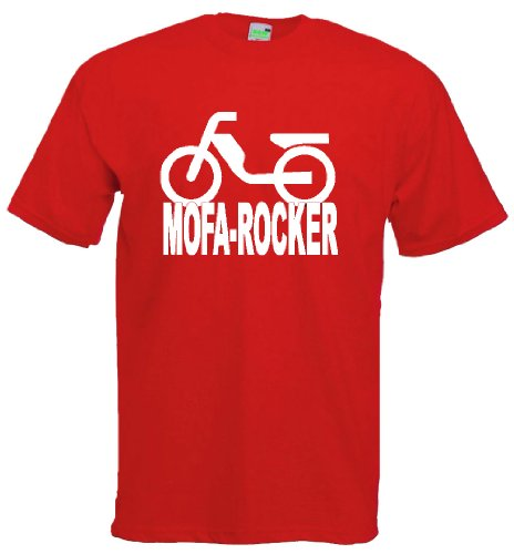 Mofa-Rocker   T-Shirt Rot