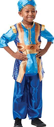 Für Genie Kostüm Jungen - Rubie's Offizielles Disney Live Action Aladdin, Genie Kinderkostüm
