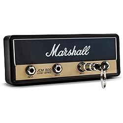 P Pluginz Marshall JCM800 standard Jack Rack V2.0- Parete Guitar Amp Portachiavi Include 4 chitarra Plug portachiavi e Kit di montaggio a parete