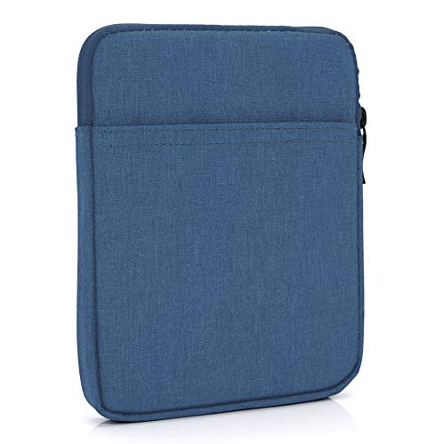 "MyGadget 6 Zoll Nylon Sleeve Hülle - Schutzhülle Tasche 6"" für eBook Reader/Smartphone/Navi z.B. Kindle Paperwhite, Apple iPhone XS X 8 Plus - Blau"