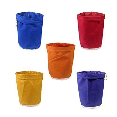 VROSE FLOSI 5 STÜCKE 1 Gallone pflanzliche EIS Blase Hash Beutel pflanzensamen essenz extraktion Bag filterbeutel