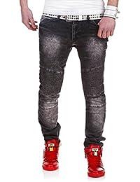 MT Styles Biker Jeans Slim Fit pantalon RJ-2048