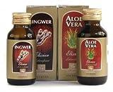 Ingwer Und Aloe Vera Elixier - set Aashwamedh