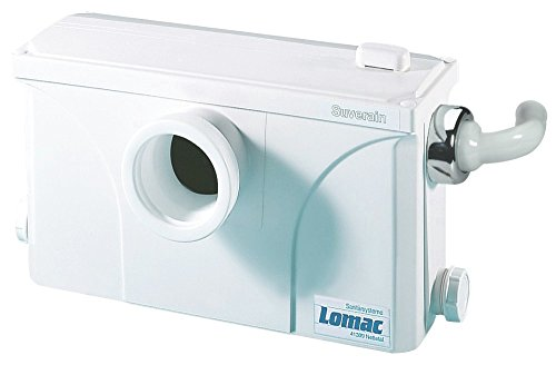 Lomac 3000-A WC Hebeanlage Schmutzwasserhebeanlage Fäkalien-Hebeanlagen