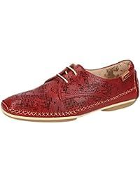 Pikolinos W1R-4683 Sandia - Zapatos con Cordones de Piel Lisa Mujer