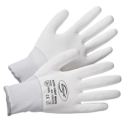 Montagehandschuhe Handschuhe Transporthandschuhe Kori-Light - Größe 9 - weiß