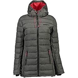 Geographical Norway Chaqueta Mujer Astana Antracita 02