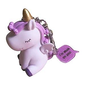Cupcinu Llavero Unicornio Colgante de