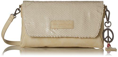 Fritzi aus Preussen Damen Allana Business Tasche, Beige (Beige), 2x18x28 cm (Anne Klein Handtasche)