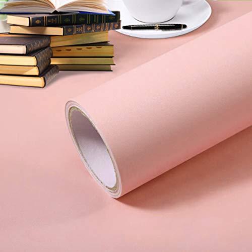 Einfarbige Tapete Selbstklebende Schlafzimmer Dekorative Aufkleber Matt Dicke Hochwertige Pvc Tapete 60cm X 5m Verdicktes Pulver
