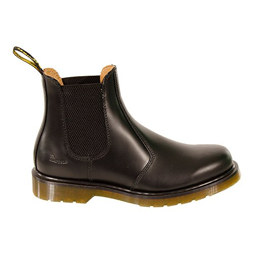 Herren Dr Martens 2976 Classic Chelsea Stil Leder Fußwurzel High Stiefel Schwarz