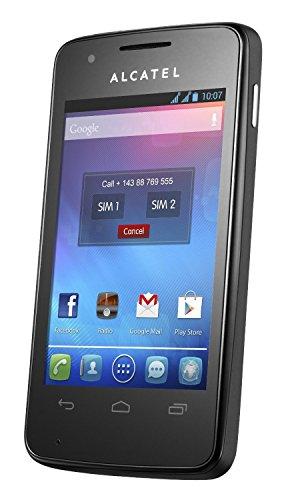 Alcatel Onetouch S'Pop 4030X (3,2 MPX Kamera, 3,5 Zoll, AndroidTM 4.1, Single Sim) Raven Black