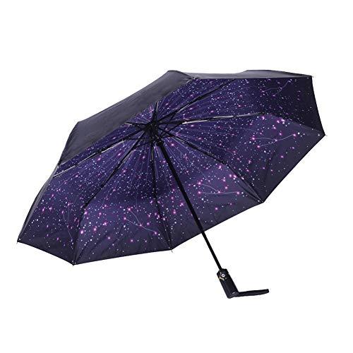 DDG EDMMS Estrella viajes prueba viento paraguas compacto