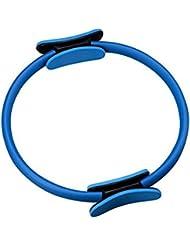 Tinksky Pilates Yoga Anneau Magique Fitness Poids Perdre du Cercle (Bleu)