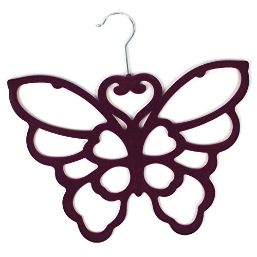 Scarf Holder - Purple Butterfly Scarf Hanger- Perfect Mothers Day Gift!
