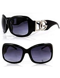 05d6831f853b5 DG Eyewear de DG Studio ® à Lunettes de Soleil de Mode Design Moderne  Surdimensionné -