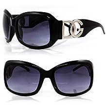 7381a985e2e DG Eyewear de DG Studio ® à Lunettes de Soleil de Mode Design Moderne  Surdimensionné -