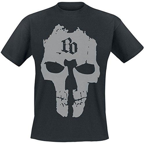 Böhse Onkelz BO Skull T-Shirt nero M