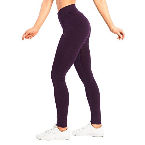 SMILODOX Sport Leggings Damen bold | Seamless - Figurformende Leggings für Sport Fitness Gym Yoga Training & Freizeit | Sporthose - Workout...