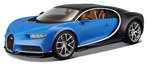 Bugatti-Chiron-118-Scale-Diecast-Model-By-Bburago-Blue