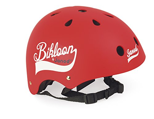 Janod - J03270 - Bikloon - Casque Rouge...