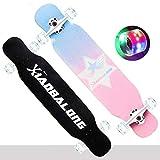 SMBYLL personalità Opzionale Skateboard Longboard Ragazzi e Ragazze Road Brush Street Board Scooter a Quattro Ruote Gravity Skateboard (Colore : B)