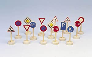 Gollnest & Kiesel Goki WM397 Kit de Figura de Juguete para niños - Kits de Figuras de Juguete para niños (3 año(s), Multicolor, Niño/niña, Madera, 240 g, 15 Pieza(s))
