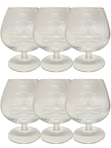 Wilthener Weinbrand Glas 6 Stück