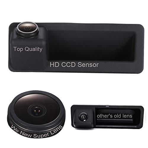 Wasserdicht 170 ° Reversible fahrzeugspezifische Lenkstange Kamera im Koffergriff integriert Rückansicht Kofferraum Rückfahrkamera für BMW E60 E61 E70 E71 E72 E82 E88 E84 E90 E91 E92 E93 X5 X6 X1