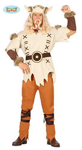 (Wikinger - Kostüm für Herren Karneval Fasching Party Barbar wild Seemann Gr. M-L, Größe:M)