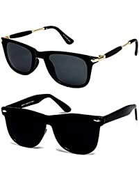 8ac04de0aa Y S Wayfarer Boy s Girl s Men s   Women s Sunglasses Combo(Black -Wayfarer-Combo-