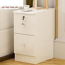 Mini gabinetes cabecera,20-25-30-35Cm Dormitorio super estrechos armarios cabecera,Esquina cajones-I 25x40x50cm(10x16x20inch)