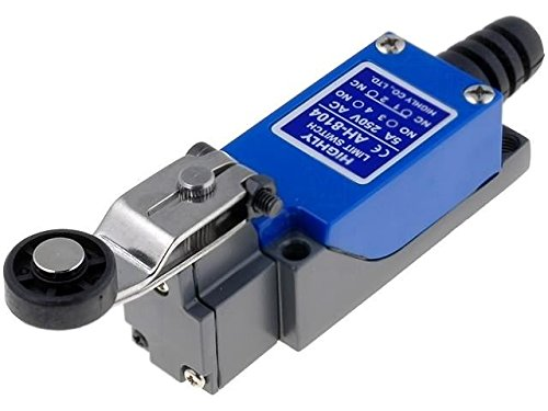AH8104 Limit switch lever R 30mm, roller Ø18mm NO + NC 5A max250VAC HIGHLY - Limit Switch, Roller