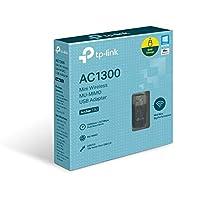 تي بي لينك AC1300 محول يو اس بي ميني لاسلكي أرشر T3U
