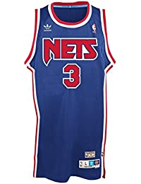 Adidas drazen Petrovic New Jersey Nets NBA Throw Back Swingman Maillot Camiseta – Blue