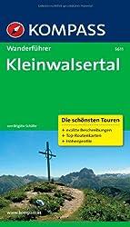 Kleinwalsertal: Wanderführer mit Tourenkarten und Höhenprofilen (KOMPASS-Wanderführer)