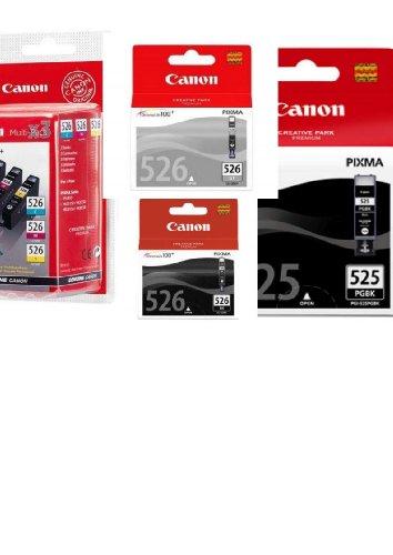 Preisvergleich Produktbild 6 Original Canon Druckerpatronen für Canon Pixma MG 8150 Tintenpatronen (black breit/black/cyan/magenta/yellow/grau)