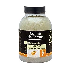 Corine de Farme Sels de Bain/Pieds Lait/Miel
