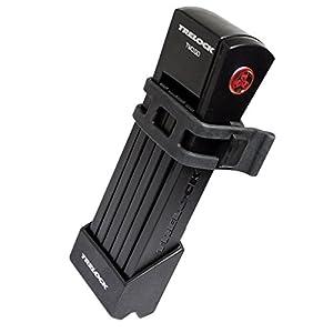 Trelock candado Plegable FS 200-75 Two Go, Soporte/Soporte Negro, 8003687
