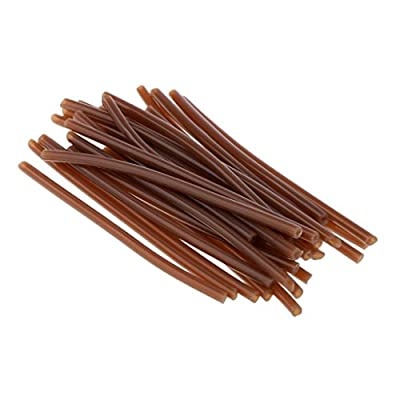 SGerste 30Pcs Fishing Rigs Tube Heat Shrink Tubing for Carp/Coarse Fishing Hair Rigs-Dark Brown from SGerste