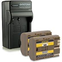 Nouveauté - 4en1 Chargeur + 2x Batterie comme BP-511 pour Canon PowerShot G1 | G2 | G3 | G5 | G6 | Pro1 | Pro 90 IS | EOS 5D | 50D | 10D | 20D | 20Da | 30D | 40D | 300D | D10 | D30 | D60| Camcorder MV30 | MV30i | MV300 | MV300i | MV400 | MV430i | MV450 | MV450i | MV500 | MV500i | MV530i | MV550i | Optura 10 | 100MC | 20 | 200MC | Pi et bien plus encore…